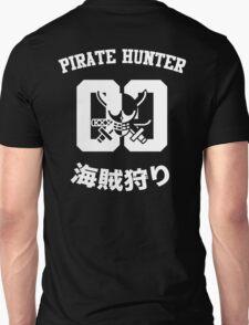 """One Piece Roronoa Zoro """"Pirate Hunter"""" Shirt White Version Unisex T-Shirt"""