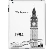 "George Orwell - 1984 - ""War is Peace"" iPad Case/Skin"