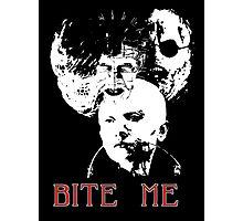 Bite Me! Photographic Print