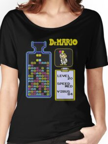 Dr.Mario NES Women's Relaxed Fit T-Shirt