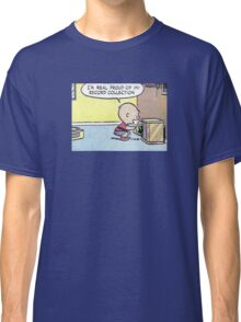 Charlie Brown Vinyl Record Collection Classic T-Shirt