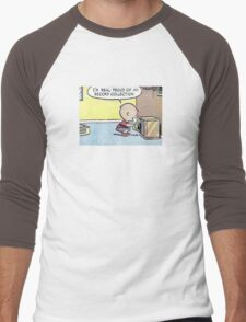 Charlie Brown Vinyl Record Collection Men's Baseball ¾ T-Shirt