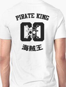 "One Piece Monkey D. Luffy ""Pirate King"" Shirt Black Version T-Shirt"