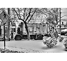 DSNY PLOW Photographic Print