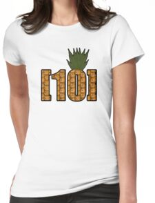 R/trees [10] Pineapple Womens Fitted T-Shirt