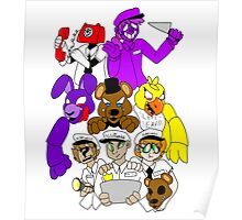 Five Nights at Freddys! Poster