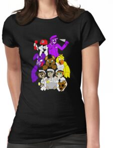 Five Nights at Freddys! Womens Fitted T-Shirt