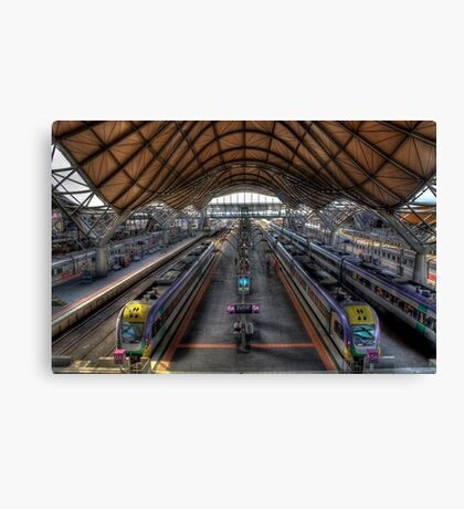 Southern Cross Station - HDR Canvas Print