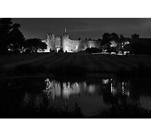 low light castle duotone Photographic Print