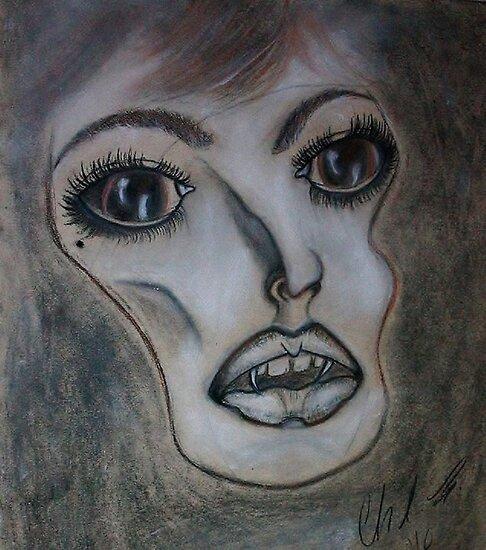 Anxious Vamp... by Christina Rodriguez