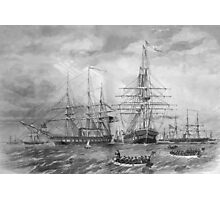 U.S. Naval Fleet During The Civil War Photographic Print