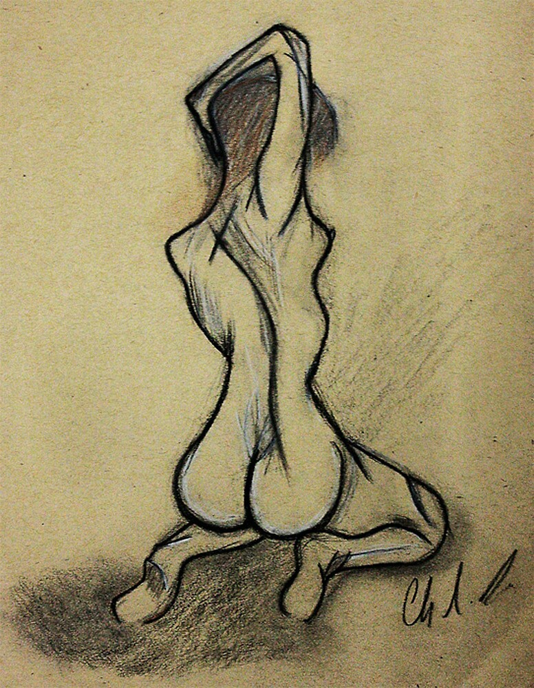 Fragile Nude... by Christina Rodriguez