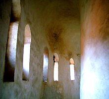 Zadar Windows of St. Donat by Blake Steele