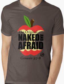 The Original Naked and Afraid Mens V-Neck T-Shirt
