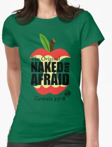 The Original Naked and Afraid Womens Fitted T-Shirt