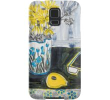 flowers and fabric 4 Samsung Galaxy Case/Skin