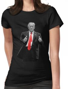 Donald Trump For President 2016 Thumbs Up Womens Fitted T-Shirt