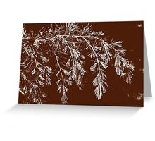 Abstract nature  8 Greeting Card