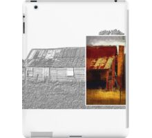 Old cottage diptych 1 iPad Case/Skin
