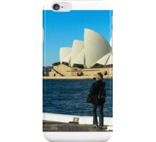 Sydney Opera House panorama iPhone Case/Skin