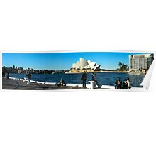 Sydney Opera House panorama Poster