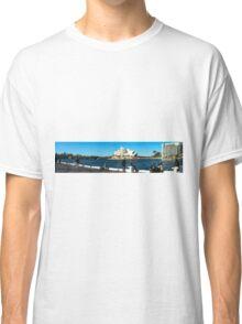 Sydney Opera House panorama Classic T-Shirt