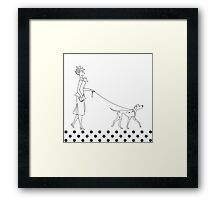 Ladies on Parade Framed Print
