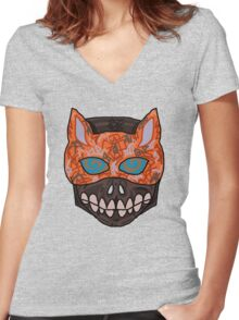 Fox Wanna Be Women's Fitted V-Neck T-Shirt