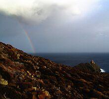 approaching rain bow by photojam