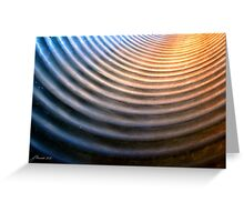 Half Pipe Greeting Card