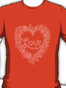 LOVE! (white line) T-Shirt