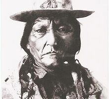 Sitting Bull by lindafews