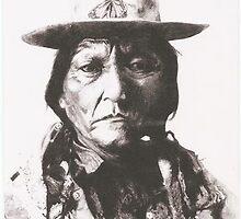 Sitting Bull by lindafews