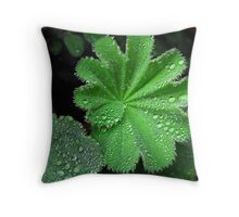 Lady's Mantle Throw Pillow