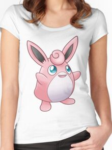 Fairy Rabbit Women's Fitted Scoop T-Shirt