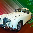 Jaguar XK 150S by Willie Jackson