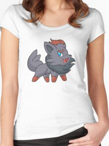 Charcoal Fox Women's Fitted Scoop T-Shirt