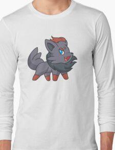 Charcoal Fox Long Sleeve T-Shirt