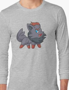 Charcoal Fox Long Sleeve T-Shirt
