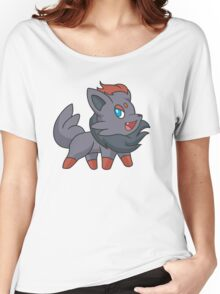 Charcoal Fox Women's Relaxed Fit T-Shirt