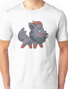 Charcoal Fox Unisex T-Shirt