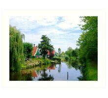 Summer in Holland Art Print