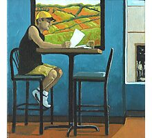 Day Off - contemporary figurative art Photographic Print