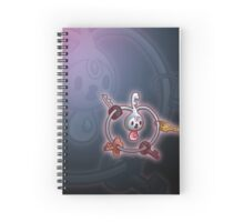 Fairy Key Ring  Spiral Notebook