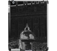 Fountain at St Peter's Square iPad Case/Skin