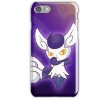Violet Feline iPhone Case/Skin