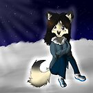 Husky - Arctic winter nights by iNote359