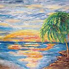 Tropical Sunset by Mary Sedici
