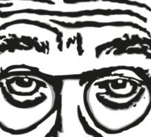 Larry David Face Leggings Sticker