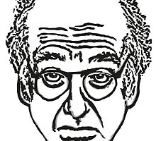 Larry David Face Stationary by averyboringname
